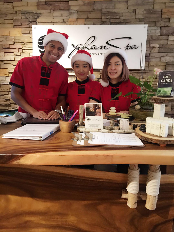 Christmas at Yihan Spa